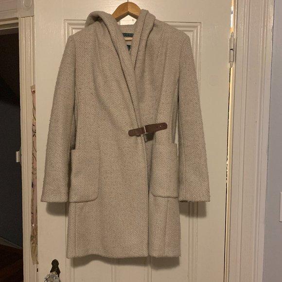 Ralph Lauren Wool Coat-Size 4
